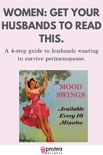 husbands surviving perimenopause, explaining menopause to men, menopause pinterest